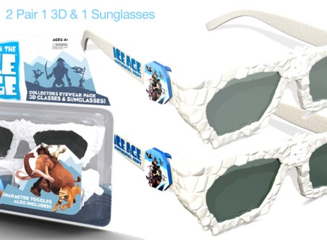 Ice Age 4 – Continental Drift 3D Glasses & Sunglass Blister